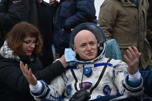 US astronaut Scott Kelly broke the record for the longest single stay in space by a US astronaut after 340 days on the Internati