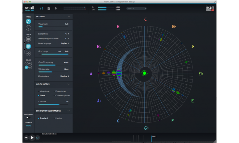 Visualize sounds and tune instruments precisely and intuitively