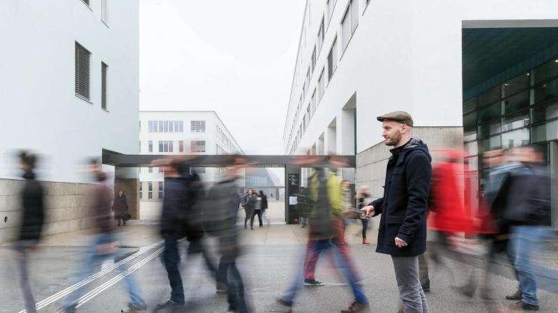 WiFi breadcrumbs reveal pedestrian patterns