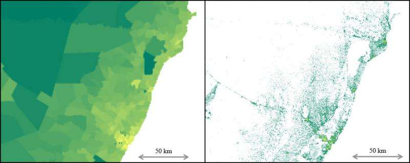 Working with Facebook to create better population maps