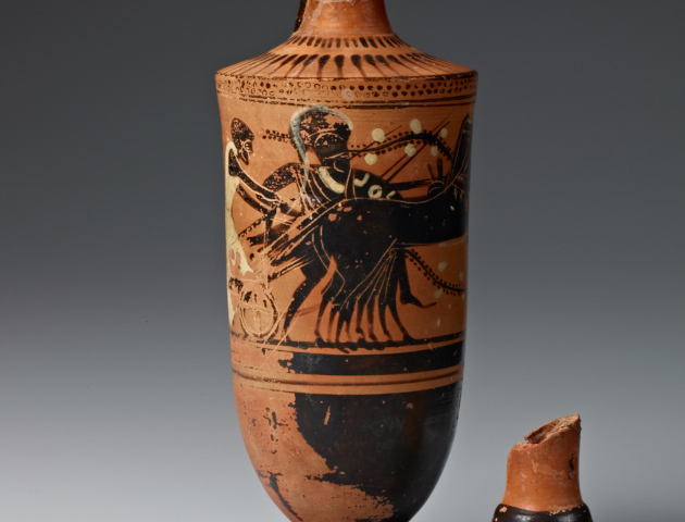 X-rays uncover surprising techniques in the creation of art on ancient Greek pottery