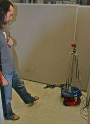 Researcher's Robots Learn From Environment, Not Programming