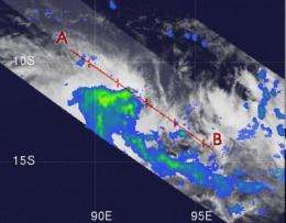 Tropical Storm 23S born in Southern Indian Ocean