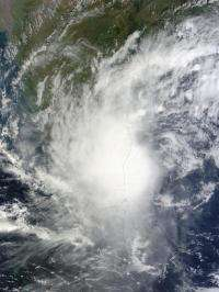NASA sees Tropical Depression Jal's remnants entering and leaving India