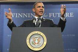 Obama promotes energy ideas at Penn State (AP)