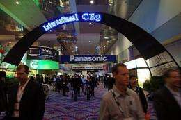 People attend the 2009 International Consumer Electronics Show in  2009 in Las Vegas, Nevada