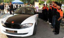 Inaugural 'Deep Orange' car unveiled at motorsports event