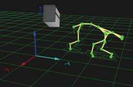 3-legged dogs boost robot research