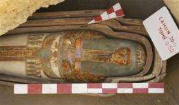 57 ancient tombs with mummies unearthed in Egypt (AP)