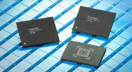Toshiba Launches 128GB Embedded NAND Flash Memory Module