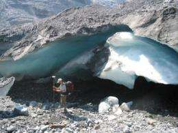 Research team breaks the ice with new estimate of glacier melt