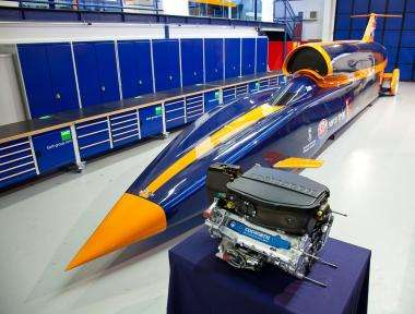 1,000 mph car to be built next year