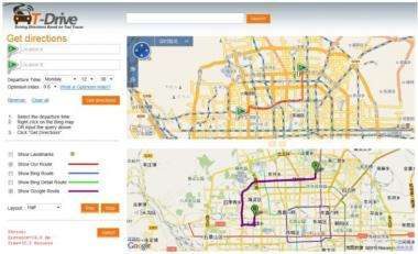 Data from savvy cabbies to help improve online mapping