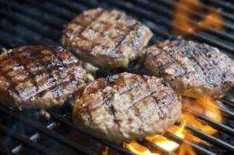 A 2-in-1 test for detecting E. coli in ground beef and other foods