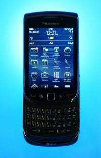 A Blackberry Torch
