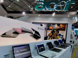 Acer Inc, the world's second biggest computer vendor by revenues, said that its profit for 2009 edged down just 3.54%