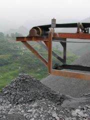 A different kind of mine disaster