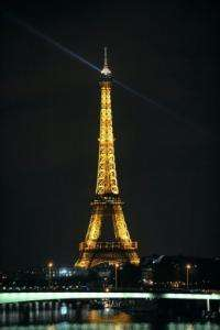 All major landmarks in Paris will take part in the