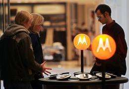 A Motorola store