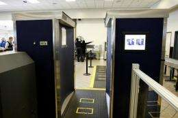 An Advanced Imaging Technology (AIT) full-body scanner