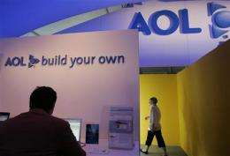 AOL execs, some analysts see changes taking hold (AP)