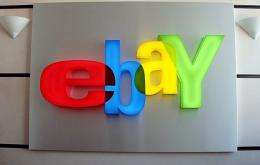 A picture of the eBay logo