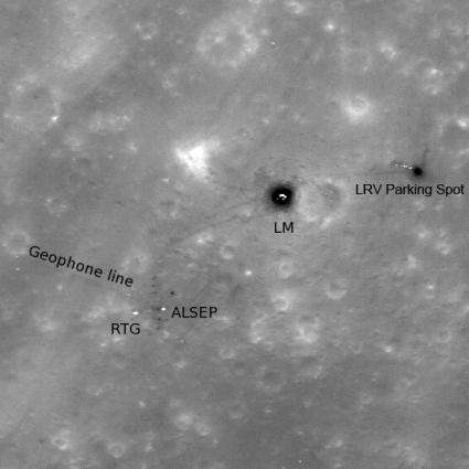 Apollo 16: Footsteps Under High Sun