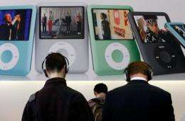 Apple traditionally upgrades its iPod line in September