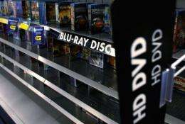 A single-layer Blu-ray disc can hold five times as much data as a conventional DVD