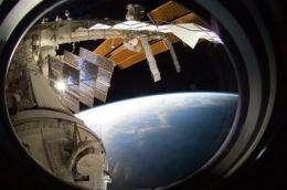 Astronauts unveil phenomenal new window on world (AP)