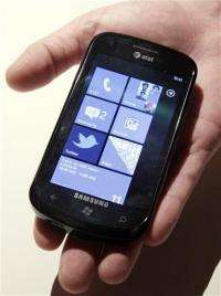 AT&T launching 3 Microsoft-powered phones (AP)