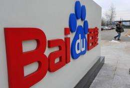 Baidu's share of the lucrative Chinese search sector hit 75.5% in the last three months of the year