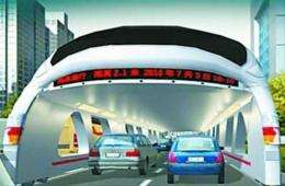 Beijing's new proposed