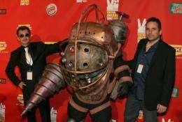Bioshock Creative Directors Greg Gobbi(L) and Ken Levine