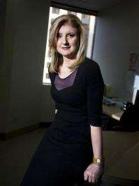 Can Huffington transform AOL like she has herself? (AP)