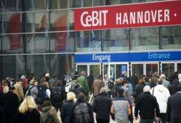 CeBIT fair in Hanover is running until March 5