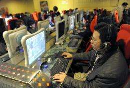 China already has 384 million online users, according to the latest official figures