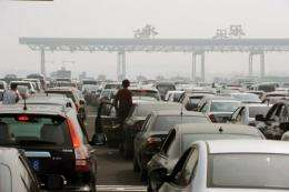 China's booming car sales have had a devastating effect on the environment, a watchdog has warned