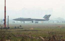 Chinese stealth fighter makes first test flight (AP)