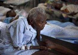 Cholera confirmed for resident of Haiti's capital (AP)