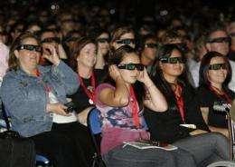`Clash' of 3-D movies to hit underprepared cinemas (AP)