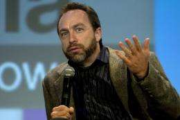 Co-founder of online encyclopedia Wikipedia, Jimmy Wales