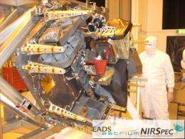 Color it ready -- Webb Telescope instrument now at Goddard