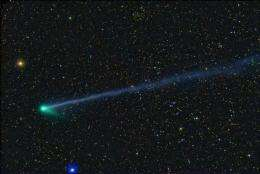 Comet Visible During Brief Visit