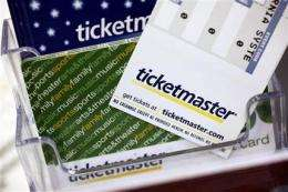 Conditions imposed on Live Nation, Ticketmaster (AP)