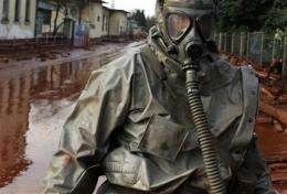 Crews struggle to clear toxic Hungary sludge flood (AP)