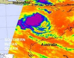 Cyclone 24S now all grown up and renamed Tropical Storm Sean