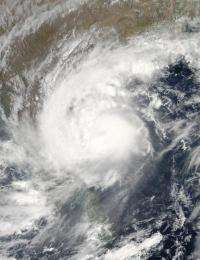 Cyclone Laila, formerly Tropical Storm 1B, is headed for landfall in India