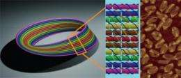DNA art imitates life: Construction of a nanoscale Mobius strip