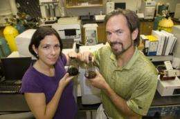 Does the shape of crude oil remnants impact rate of biodegradation?